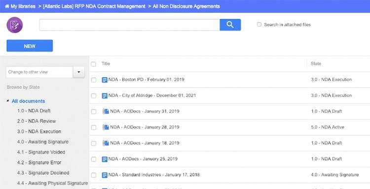 Centralize Contracts Management